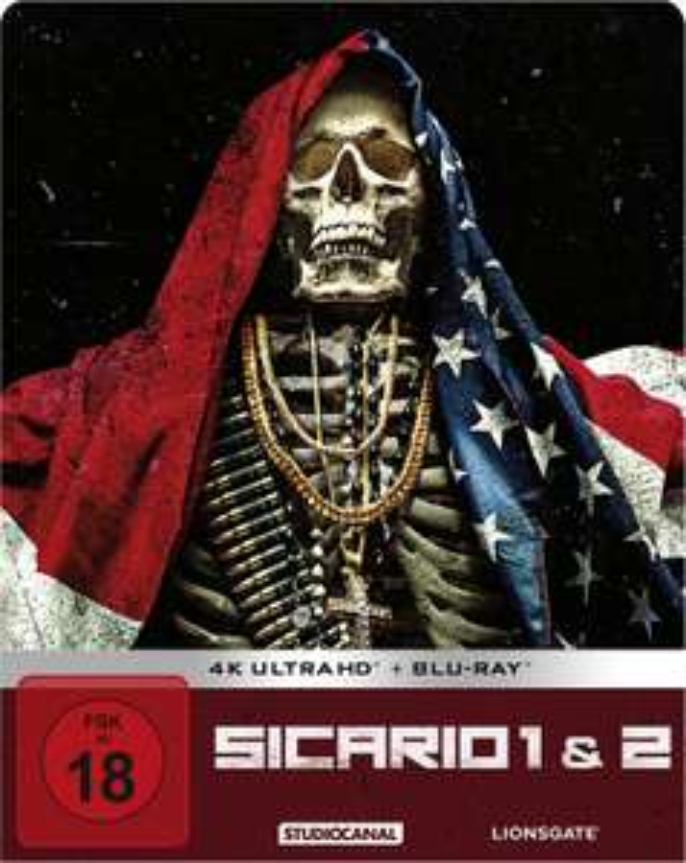 Sicario 1&2 4K UHD-BluRay Steelbook-Edition - Prime