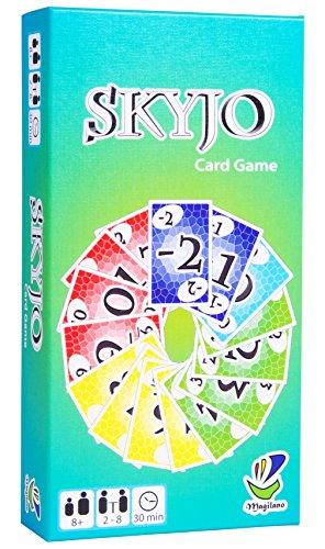 Prime Day: Magilano SKYJO, unterhaltsame Kartenspiel für Jung und Alt