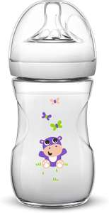 Philips Avent SCF627/22 Natural Baby - Flasche Hippo (260 ml) bei [Amazon / Prime Day]