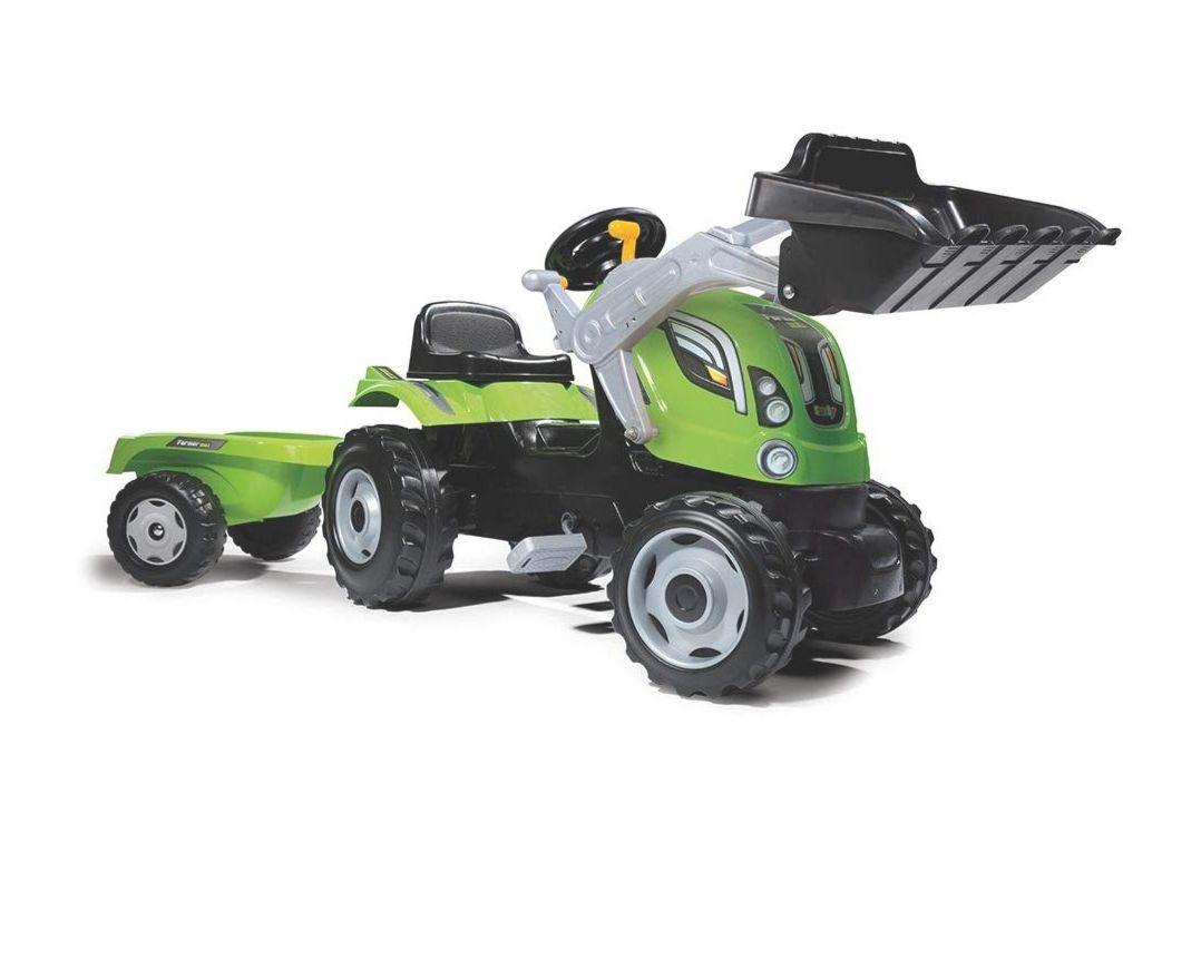 Smoby Traktor mit Ladeschaufel und Anhänger (Amazon-Prime-Angebot)