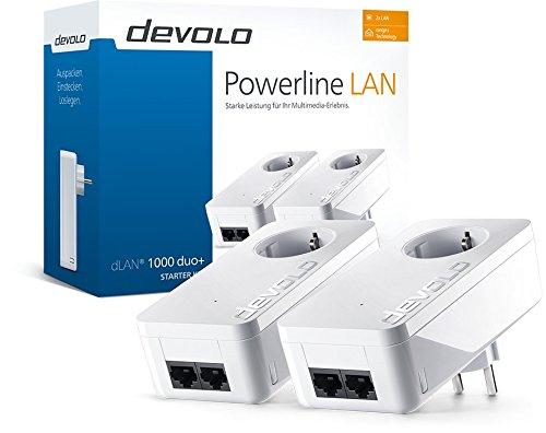 Devolo dLAN 1000 duo+ Starter Kit Powerline Sondermodell für Prime-Mitglieder