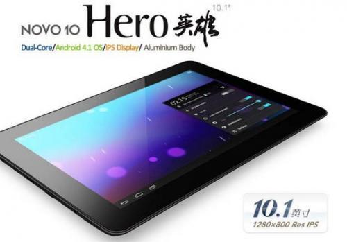 "Ainol Christmas Sale - Hero 10"" HD/DualCore/4.1"