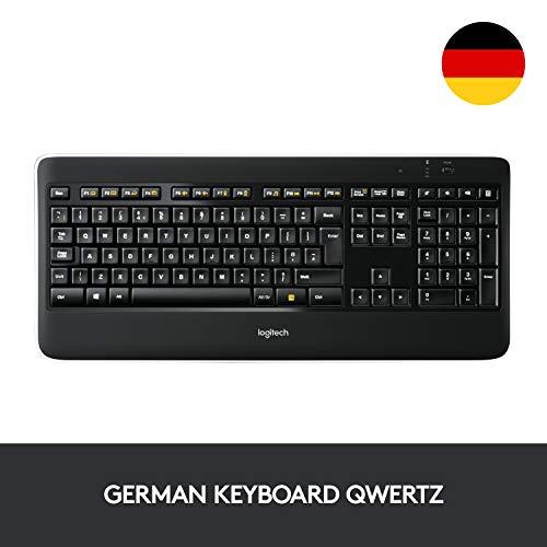 [AMAZON PRIME DAY]Logitech K800 Wireless Illuminated Keyboard QWERTZ
