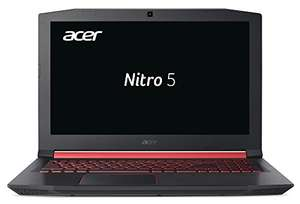"[Amazon Prime] Acer Nitro 5 Gaming Notebook AN515-52-59UC (15.6"", IPS, 60Hz, i5-8300H, 8GB RAM, 512GB M.2 PCIe, GTX 1060 6GB, Win10)"