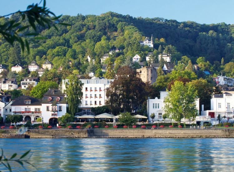 ( Ebertor Hotel Boppard 3* Superior ) 3 Tage/2Nächte für 2 Personen direkt am Rheinufer mit Frühstück