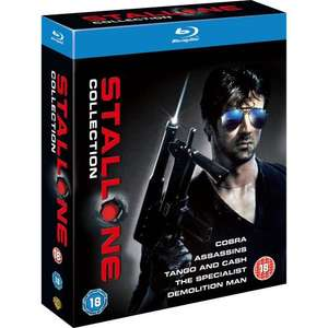 Blu-Ray - The Sylvester Stallone Collection (5 Discs) für €11,03 [@TheHut.com]