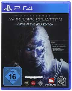 [Amazon Prime] Mittelerde: Mordors Schatten - Game of the Year Edition - [PlayStation 4]