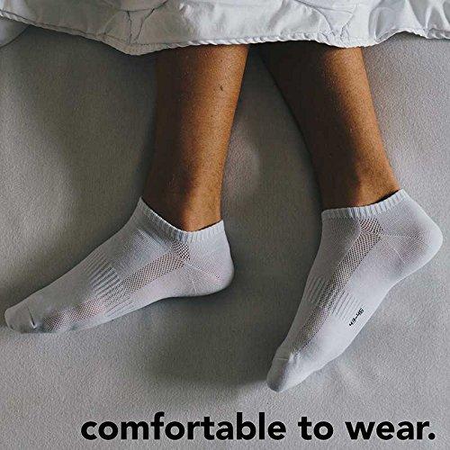 Snocks: Herren & Damen Sneaker Socken (6x Paar) - Antirutsch & Anti schwitz @Amazon PrimeDay