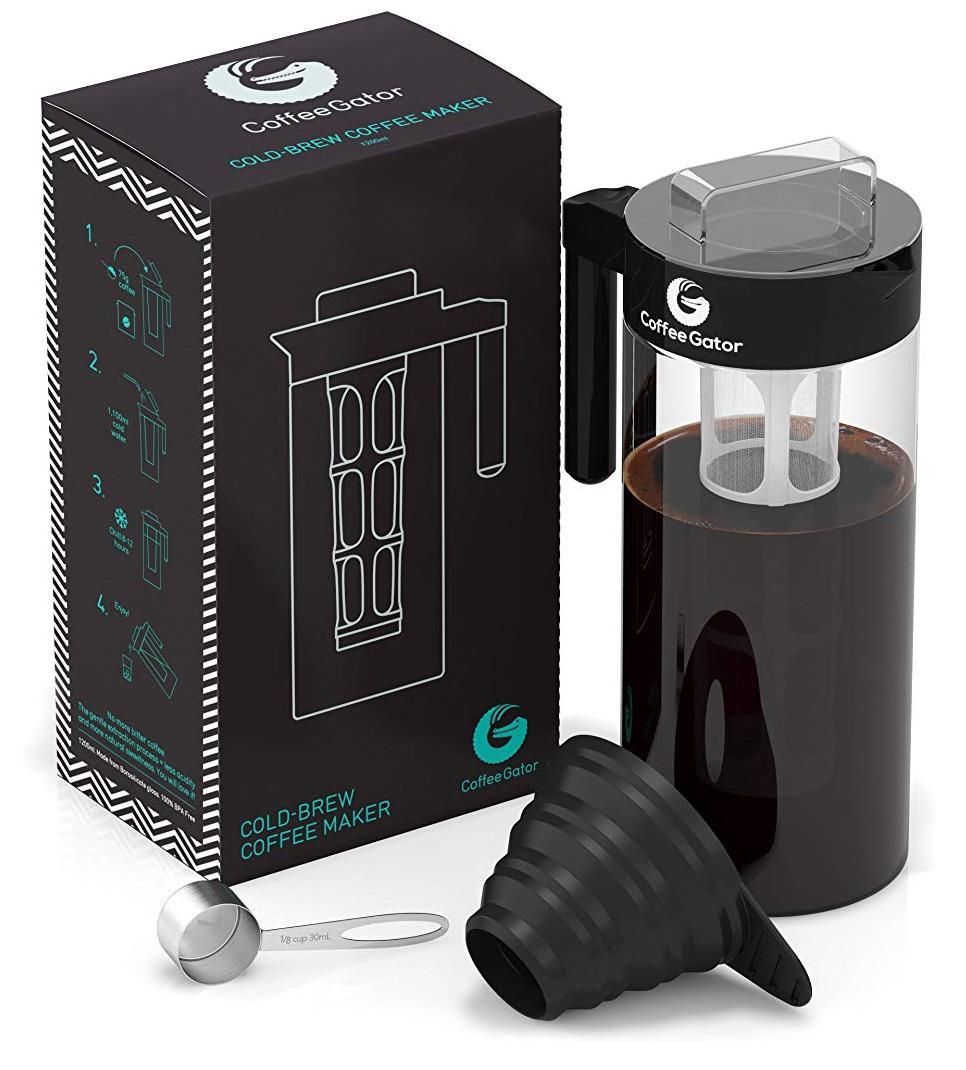 [Prime Day] Coffee Gator Cold Brew Bereiter