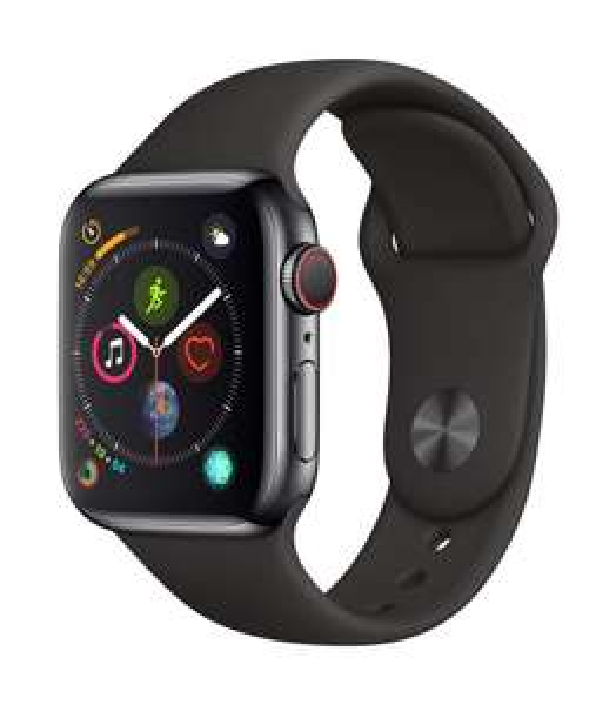 Apple Watch Series 4 GPS + Cellular 40mm space schwarz Edelstahl [Amazon.it Prime]