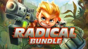 Radical Bundle: 12 Spiele für Steam, z.B. Giana Sisters - Twisted Dreams, Sine More EX, Airline Tycoon Deluxe oder Rad Rodgers: World One