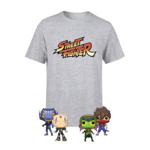 Marvel Vs Capcom Bundle mit T-Shirt und 4 Funko Pop Figuren für 18,81€ (Zavvi)