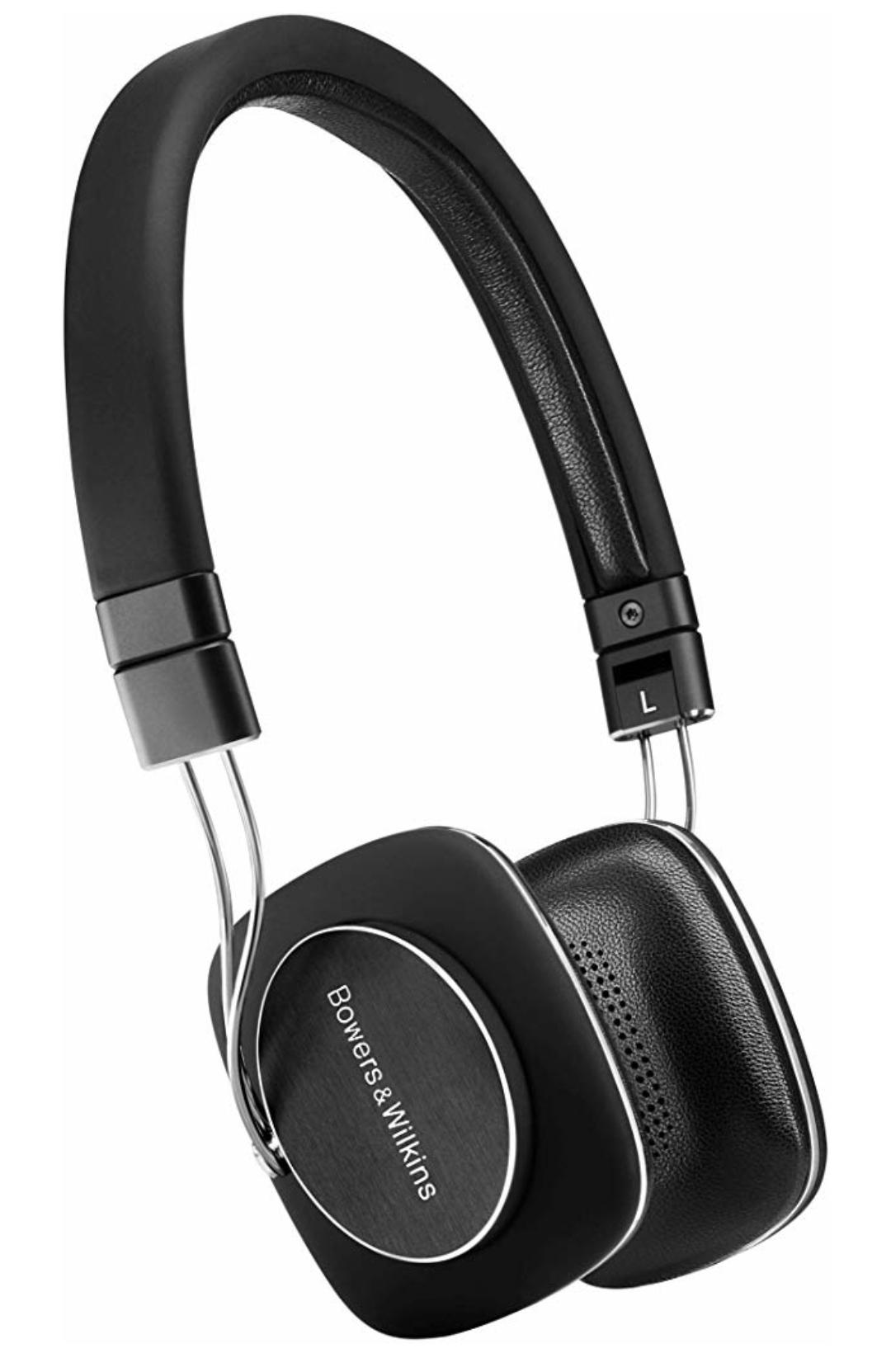 Bowers & Wilkins P3 Serie 2 On-Ear-HiFi-Kopfhörer schwarz [Prime]