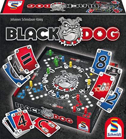 Schmidt Spiele 49323 Black Dog, Spiel und Puzzle inklusive Versand