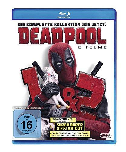 Deadpool + Deadpool 2 (Doppelset Blu-ray) für 14,97€ (Amazon Prime Day)