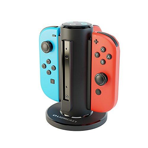 Lioncast Joy-Con Quad-Charger - Nintendo Switch Ladestation