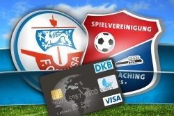 DKB Visa Card, **** Eintritt Hansa Rostock - SpVgg Unterhaching