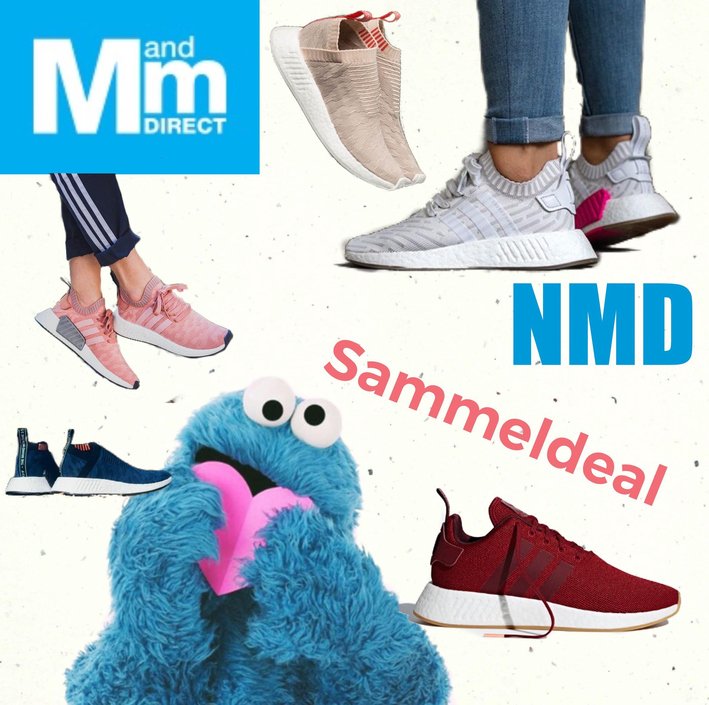 [MandM Direct] kleiner Sammeldeal für die Damen: Adidas Originals Nmd R1, R2 & CS2 ab 51,95€ + Versand