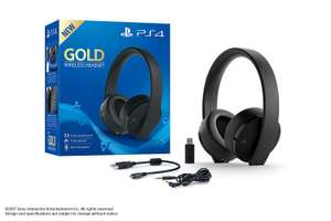 [Amazon UK Prime / Prime Day] Sony Playstation 4 Gold Wireless Headset