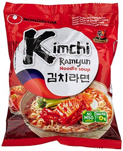 Nong Shim Kimchi Ramyun (Ramen) Instantnudeln 20x über Warehouse