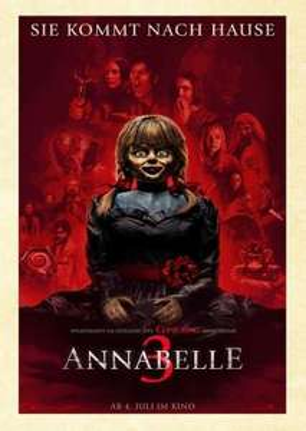 UCI Kino FilmderWoche Ticket in ganz Deutschland 50% Rabatt bis zum 24.7.2019 auf Annabelle 3 gilt auch am Wochenende in der Loge