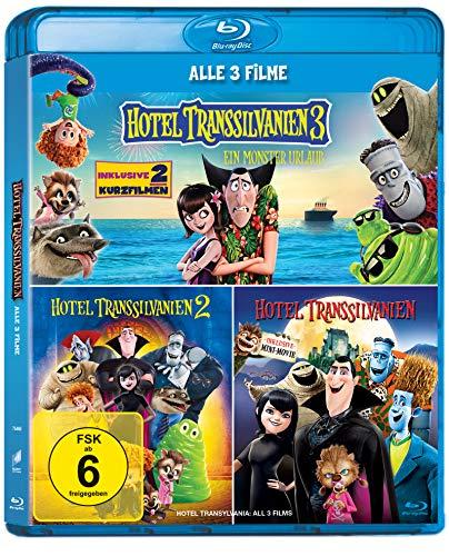 Hotel Transsilvanien 1-3 (3-Filme Set Blu-ray) für 14,99€ versandkostenfrei (Saturn)
