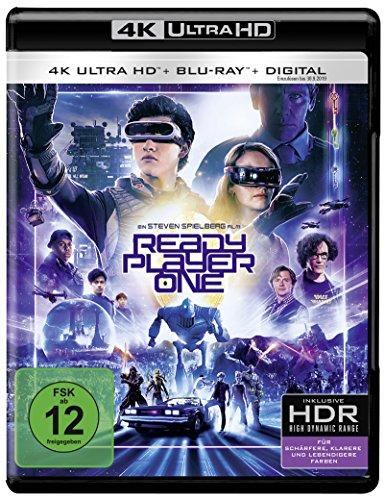 Ready Player One  (4K Ultra HD) (+ Blu-ray 2D)