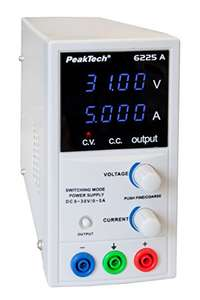 Prime Day: PeakTech 6225 A - Labornetzteil 0-30V / 0-5A,