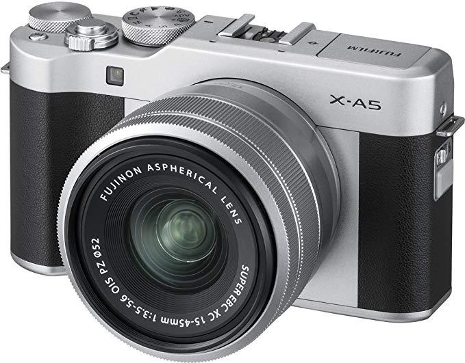 [Amazon] Fujifilm X-A5 mit XC15-45mm F3.5-5.6 OIS PZ Kamera Silber