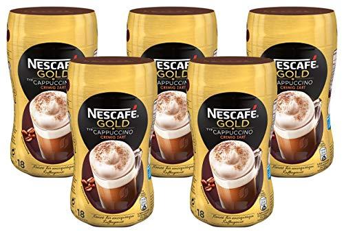 5 x 250g NESCAFÉ Gold Typ Cappuccino Cremig Zart