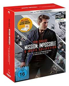 Mission: Impossible The 6 Movie Collection Limited Boxset 4K UHD Box Set [Amazon Prime]