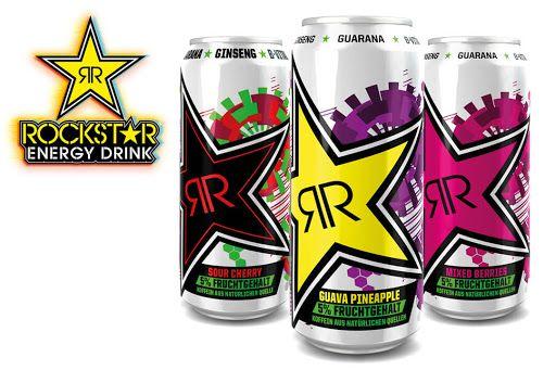 [Marktkauf/Edeka] Rockstar Mixed Berries, Guava Pineapple, Sour Cherry effektiv(Scondoo) 0,74 Euro die Dose