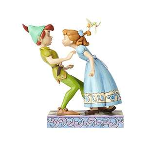 Disney Traditions An Unexpected Kiss - Peter Pan and Wendy Figur