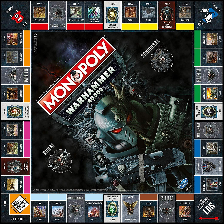 Winning Moves Monopoly Warhammer 40K, Brettspiel