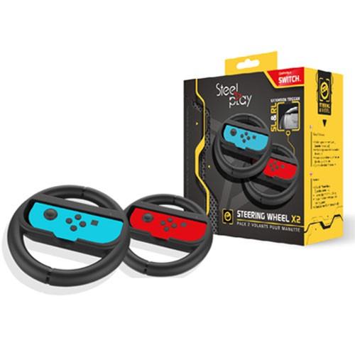 Steelplay Nintendo Switch Lenkrad 2er-Pack