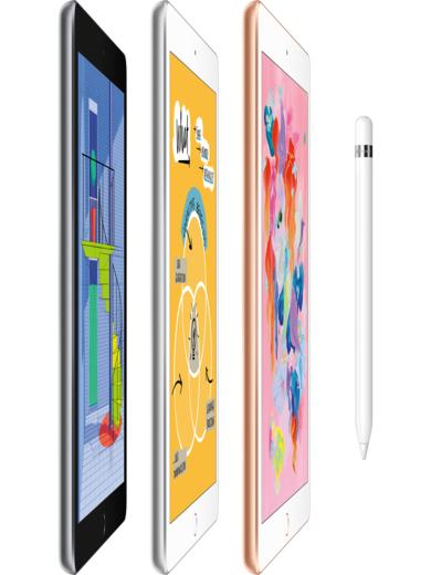 Apple iPad Wi-Fi (2018) 32GB space grau
