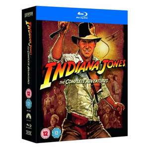 [Blu-ray] Indiana Jones - The Complete Adventures ca. 33,37 € inkl. Versand @Amazon.co.uk