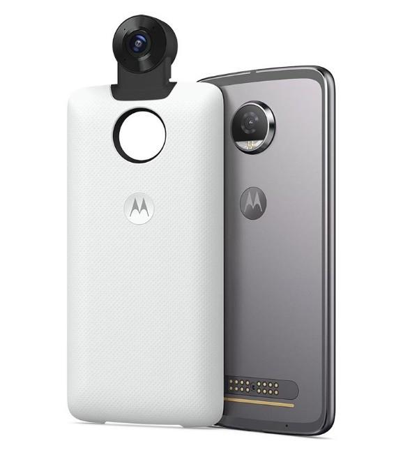 [Moto Mods; nur für Moto Z Geräte] Motorola Moto 4K 360 Grad Kamera