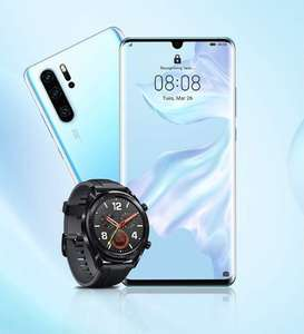 Huawei P30 Pro für 79€ ZZ + Watch GT Sport im Vodafone Smart L+ (10GB/15GB LTE) mtl. 36,99€ | Smart XL (14GB/20GB LTE) 41,99€ + 4,95€ ZZ