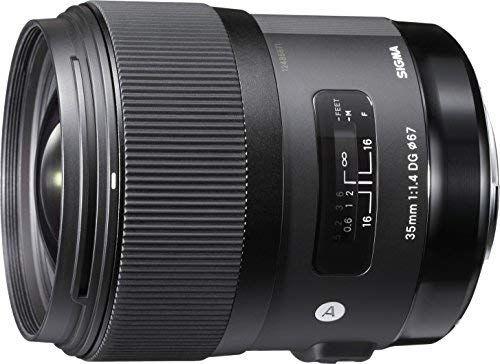 Amazon UK Sigma 35 mm f/1.4 Nikon Art Objektiv