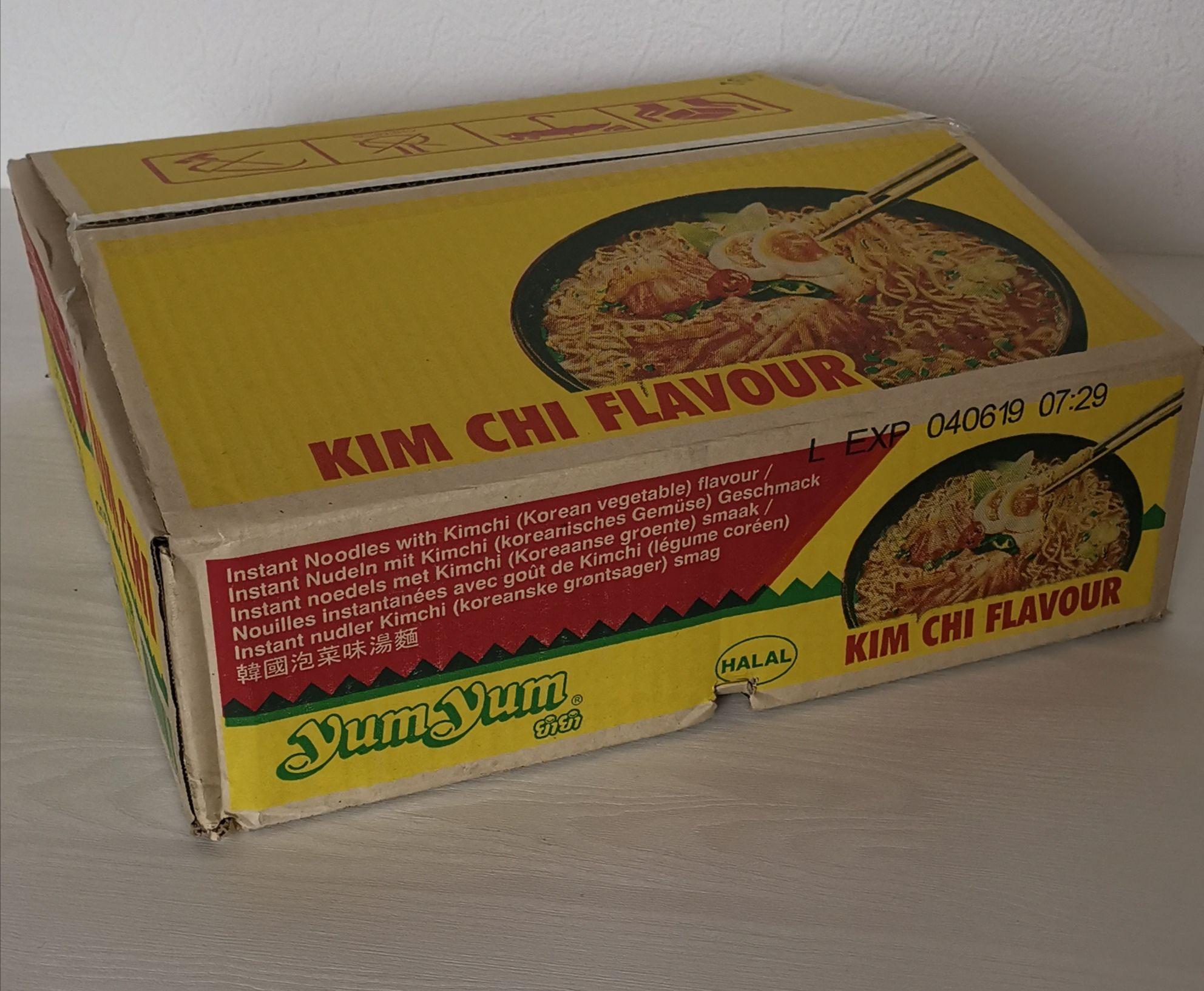 [Lokal Essen] Yum Yum Instantnudeln, Kimchi, 30 Stück (30x60g) - MHD Ware