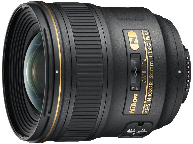 Nikon 24mm f1.4G ED AF-S Nikkor [inkl. 500 EUR Media-Markt Gutschein)
