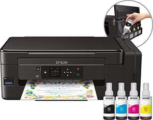 [Amazon Blitzangebote] Epson EcoTank ET-2650 nachfüllbares 3-in-1 Tintenstrahl Multifunktionsgerät