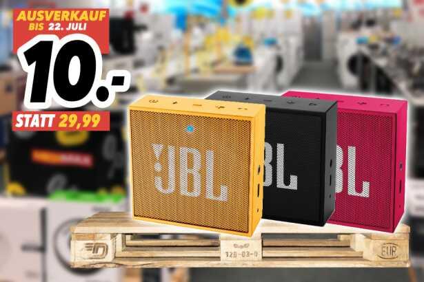 [Lokal: Medimax Osterholz-Schwarmbeck] JBL GO Bluetooth Lautsprecher