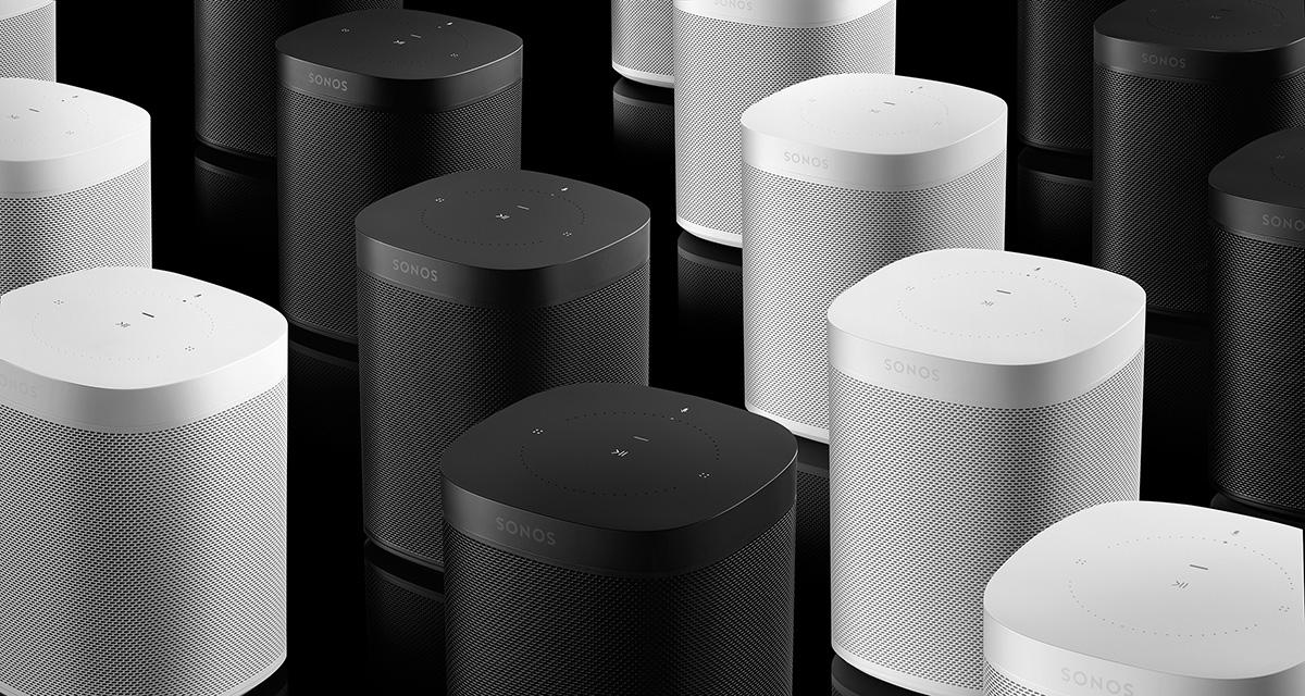 Sonos ONE (1.Gen) generalüberholt in weiß (schwarz ausverkauft)