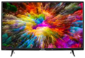 "Medion Life X17034 49"" 4K UHD TV (Edge-lit, 60Hz, 350cd/m², 4x HDMI (HDCP 2.2), Smart TV, WLAN, Bluetooth)"