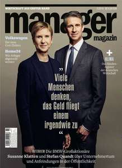 Manager Magazin Abo für 106,40 € mit 90 € Amazon-Gutschein