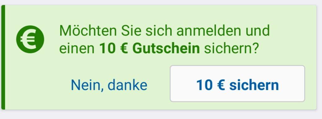 [CHECK24] 10€ Gutschein bei erster Anmeldung über die App