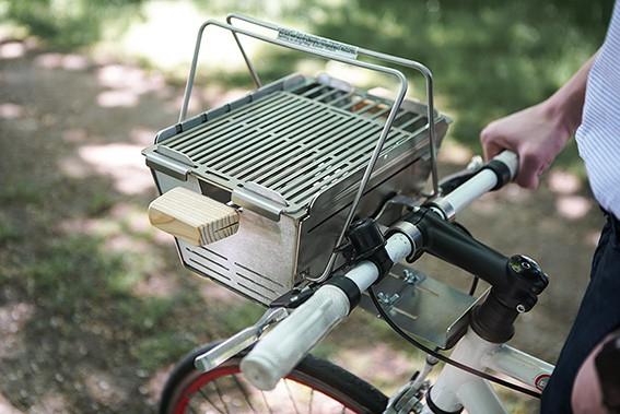 Knister - 25 % Rabatt auf den mobilen Grill fürs Fahrrad