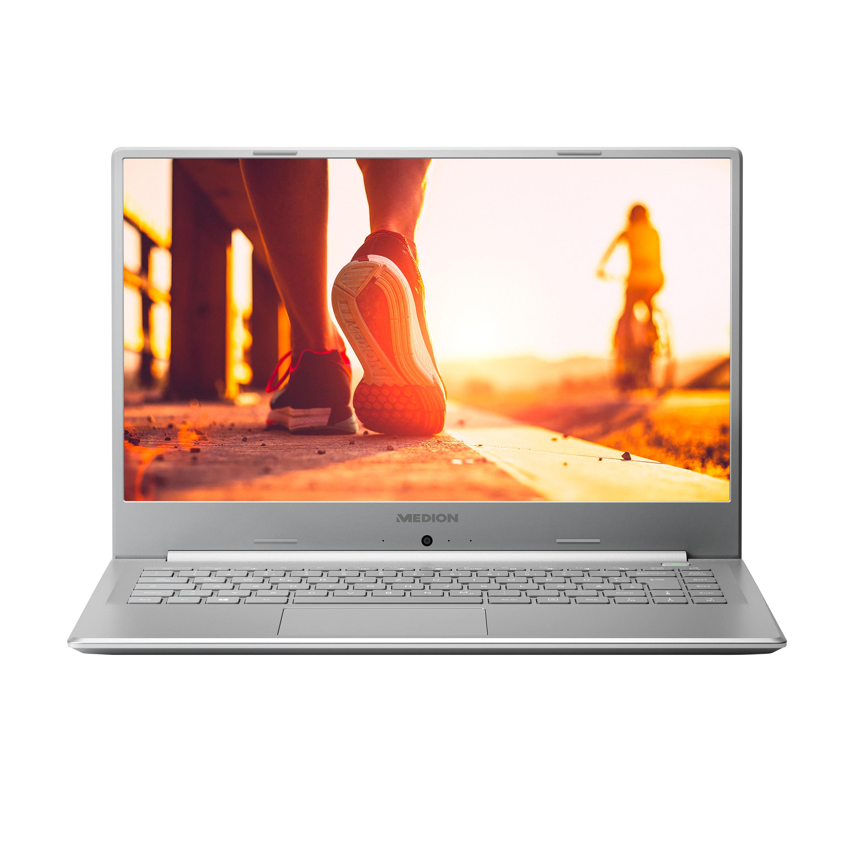 """MEDION® AKOYA® P6645, Intel® Core™ i5-8265U, Windows 10 Home, 39,5 cm (15,6"""") Full HD Display, NVIDIA MX150, 128 GB SSD, 1 TB HDD, 8 GB RAM"""